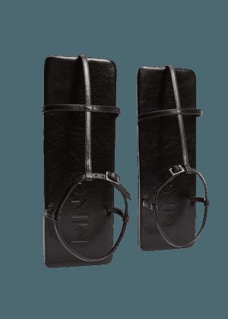 square leather sandal - Women | Mango USA