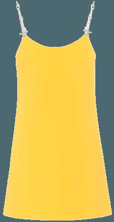 Crystal-embellished Mini Dress | MIU MIU
