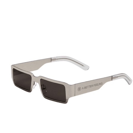 A BETTER FEELING - POLLUX POLISHED STEEL Sunglasses