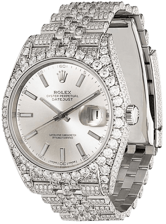 ShopRolex pre-owned Rolex Datejust 41 Jubilee 50mm with Express Delivery - Farfetch