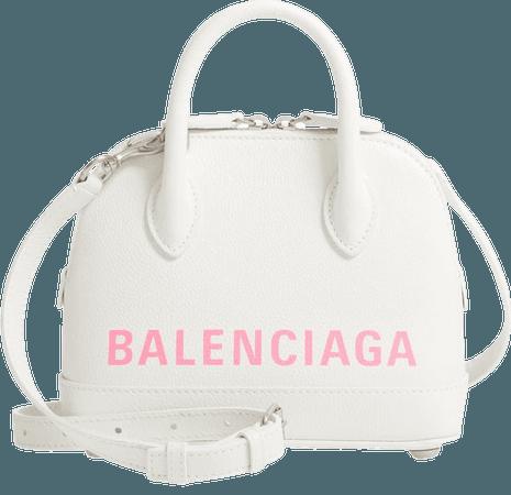 Balenciaga Extra Small Ville AJ Calfskin Top Handle Dome Satchel | Nordstrom