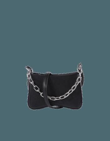 Crossbody bag with chain - Accessories - Woman | Bershka