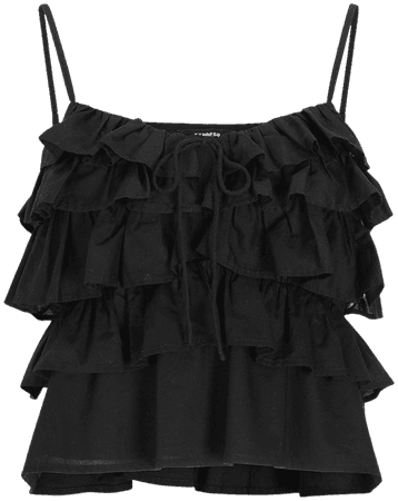 Tiered Ruffle Cami | Express