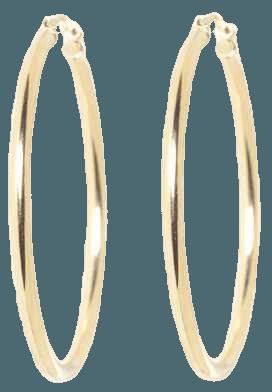 big hoop gold earrings - Google Search