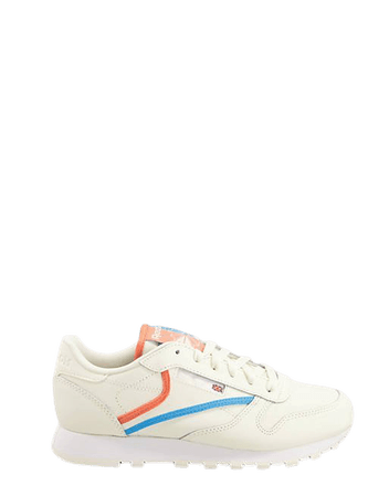 Reebok Classic Leather sneakers in white | ASOS