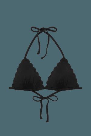Push-up Triangle Bikini Top - Black - Ladies | H&M US