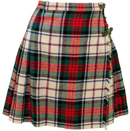 1960 Small Skirt Plaid Kilt School Girl Academy Cosplay Fantasy Punk