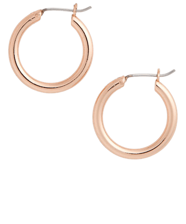 Halogen® Small Endless Hoop Earrings | Nordstrom