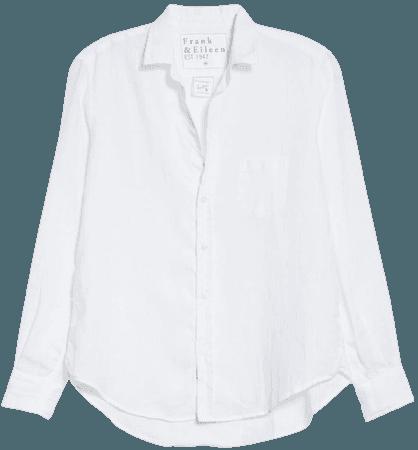 Frank & Eileen Eileen Linen Button-Up Shirt