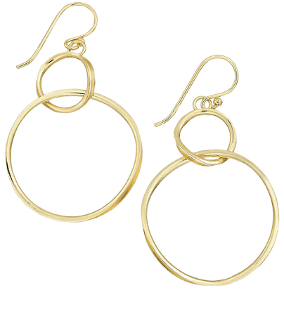 Essentials Large Silver Plated Twisted Looped Drop Earrings & Reviews - Earrings - Jewelry & Watches - Macy's