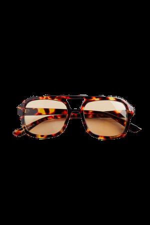 Tallulah Plastic Aviator Sunglasses | Urban Outfitters