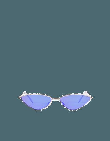 Okulary przeciwsłoneczne cat eye - AKCESORIA - Kobieta | Bershka