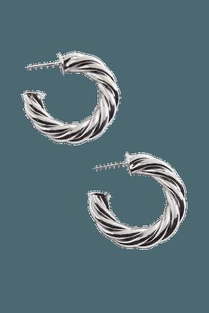 Statement Twist Hoop Earring | Urban Outfitters