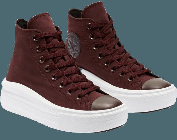 Converse Chuck Taylor® All Star® Move High Top Platform Sneaker (Women) | Nordstrom