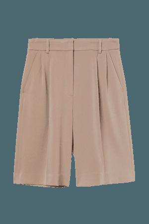 Dressy Bermuda Shorts - Beige - Ladies | H&M US