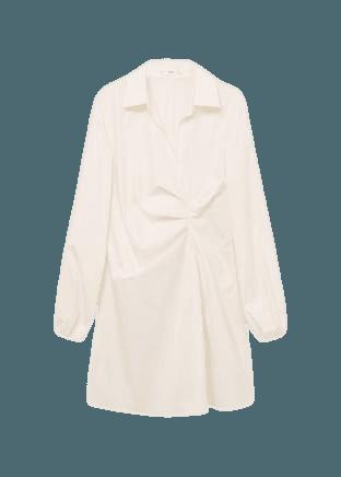 Midi shirt dress - Women   Mango USA