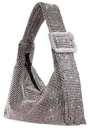 Pina Bausch Crystal Mesh Shoulder Bag By Benedetta Bruzziches   Moda Operandi