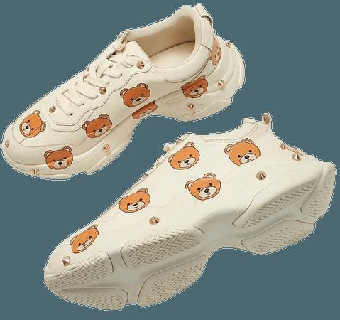 Umka Snuggle Bear Cream Trainers | Koi