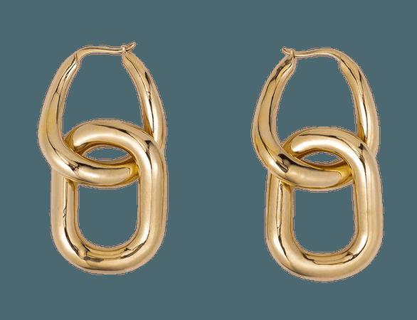Mejuri Le Chain Earring | Gold Vermeil – FRAME