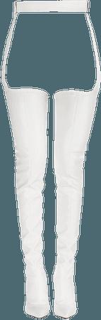 EVA KILLER BOOT 120 mm | Paper vinyl over the knee boot | Le Silla