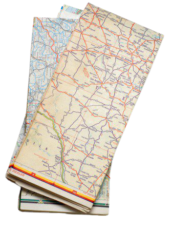 Travel Map, Travel Clipart, Map Clipart, Paper PNG Image and Clipart for Free Download