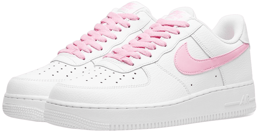 Nike Air Force 1 '07 W White & Pyschic Pink | END.