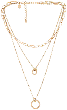 8 Other Reasons Circle Layer Necklace in Gold | REVOLVE