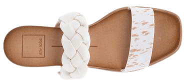PERSEY SANDALS IN FAWN CALF HAIR – Dolce Vita