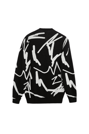 GRAFFITI SWEATER | ZARA Canada