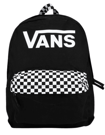 VANS Realm Color Theory Backpack - BLACK - VN0A4DRMBLK | Tillys