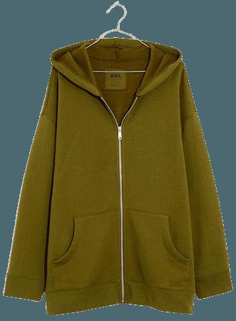 MWL Betterterry Full-Zip Long Hoodie Sweatshirt