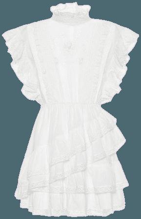 Holly cotton mini dress