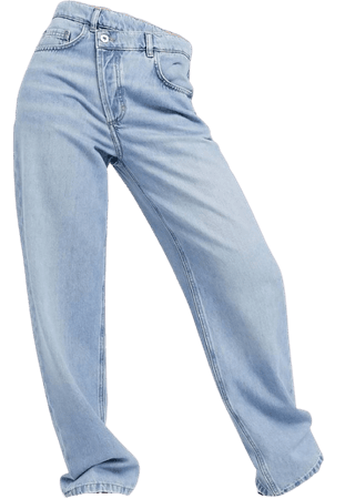 collusion baggy wide leg jeans