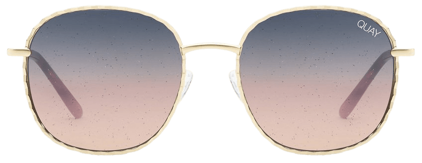 JEZABELL TWIST Glitter Sunglasses   Quay Australia