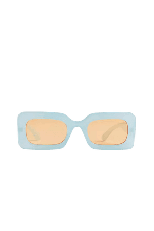 Margot Chunky Rectangle Sunglasses | Urban Outfitters
