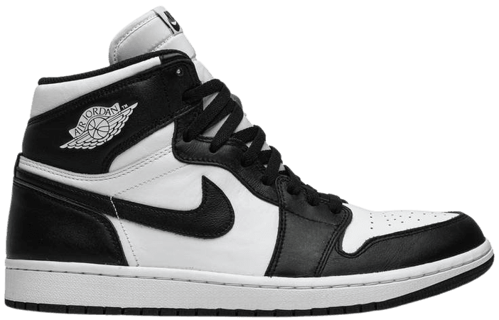 Air Jordan 1 Retro High OG 'Black/White' - Air Jordan - 555088 010 | GOAT