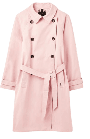 Evita null Water Resistant Trench Coat , Size US 6 | Joules US