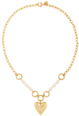 Heart Chain Necklace | Ann Taylor