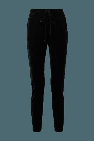 Black Velvet track pants | Commando | NET-A-PORTER
