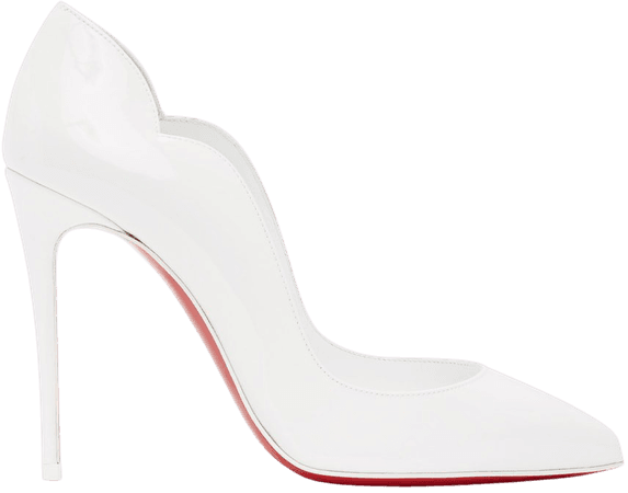 C L White Heels