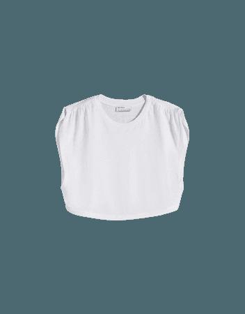 tank top - Tees and tops - Woman | Bershka