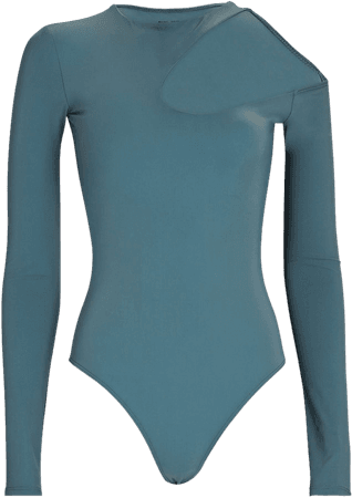 ALIX NYC Wrenn Cut-Out Jersey Bodysuit   INTERMIX®