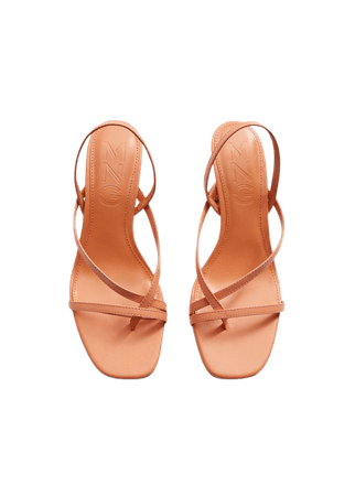 Leather straps sandals - Woman | Mango Slovakia