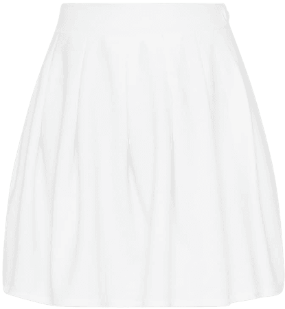 White Pleated Tennis Skirt | PrettyLittleThing USA
