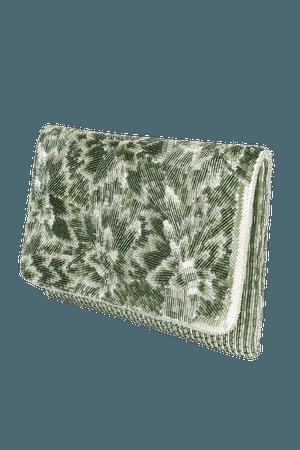 Green Clutch - Beaded Clutch - Clutch - Clutch Purse - Clutch Bag - Lulus