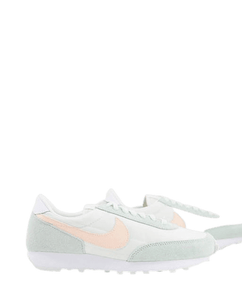 Nike Daybreak sneakers in sail/barely green   ASOS
