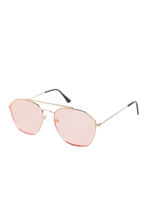 Mabel Square Aviator Sunglasses | Urban Outfitters