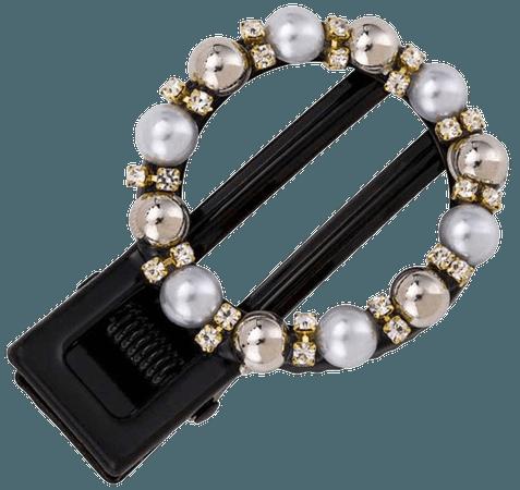 JESSICABUURMAN – LEVIO Pearls Round Hair Clip