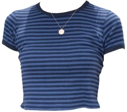 blue shirt top png