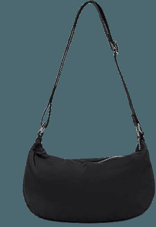 Nylon crossbody bag with adjustable strap - pull&bear